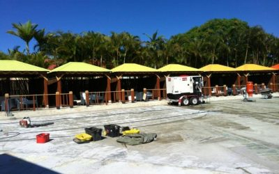 Synthetic Grass refit at Wet N' Wild